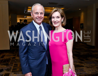 Mack and Donna McLarty. Photo by Tony Powell. Meridian Global Leadership Awards. Four Seasons. June 10, 2014