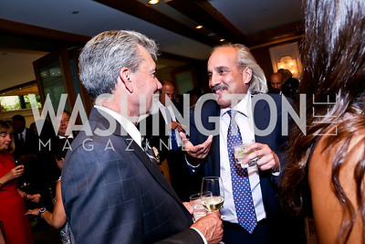 Dan Maffey, Tom Raffa. Photo by Tony Powell. Meridian Global Leadership Awards. Four Seasons. June 10, 2014
