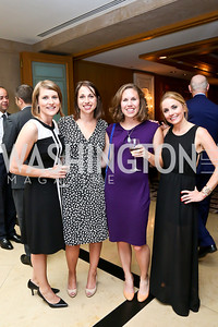 Sarah Dedowski, Suzanne Youngner, Liz Trapp, Stephanie Cate. Photo by Tony Powell. Meridian Global Leadership Awards. Four Seasons. June 10, 2014