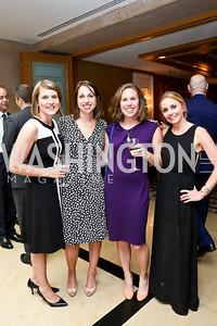 Sarah Dedowski, Suzanne Youngner, Liz Trapp, Stephanie Cate. Photo by Tony Powell. Meridian Global Leadership Awards. Four Seasons. June 10, 2014