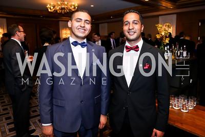 Ahmed El Assal, Zeyad El Kelani. Photo by Tony Powell. Meridian Global Leadership Awards. Four Seasons. June 10, 2014