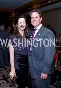 Gwen and Stuart Holliday. Photo by Tony Powell. Meridian Global Leadership Awards. Four Seasons. June 10, 2014