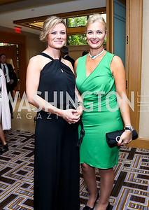 Tera Dahl, Gigi Gabr. Photo by Tony Powell. Meridian Global Leadership Awards. Four Seasons. June 10, 2014