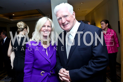 Susan Blumenthal, Jim Moran. Photo by Tony Powell. Meridian Global Leadership Awards. Four Seasons. June 10, 2014