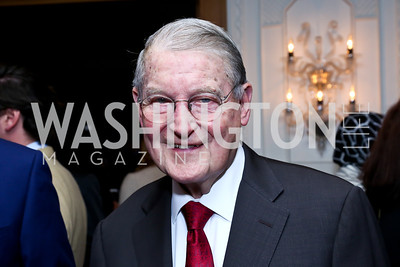 William Webster. Photo by Tony Powell. Meridian Global Leadership Awards. Four Seasons. June 10, 2014