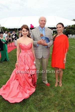 Jean Shafiroff, Robert McCann, Georgina Bloomberg
