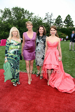 Sharon Kerr, Melanie Wambold, Nancy Loewy, Jean Shafiroff