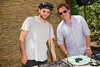 DJ Julian Cavin and Todd Goldblatt<br /> photo by Rob Rich/SocietyAllure.com © 2014 robwayne1@aol.com 516-676-3939