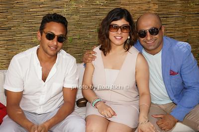 Samir Khare, Aliah Lalani, Vinit Soni photo by Rob Rich/SocietyAllure.com © 2014 robwayne1@aol.com 516-676-3939