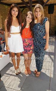 Paola Agudelo,  Evelyn Collado, and Caroline Agudelo