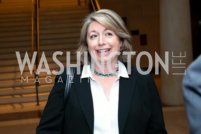 "New America Foundation Senior Advisor Sharon Burke. Photo by Tony Powell. ""The Burden"" Screening and Reception. US Capitol Visitors Center. July 24, 2014"