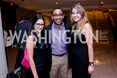 "Amanda Sherman, Chris Baity, KC Jaski. Photo by Tony Powell. ""The Burden"" Screening and Reception. US Capitol Visitors Center. July 24, 2014"