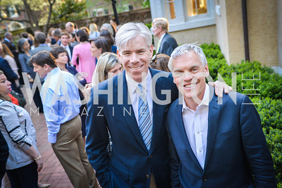 David Gregory, Tom Carver, The Confidence Code, by Katty Kay and Claire Shipman, Book Party, April 21st, 2014, Photo by Ben Droz