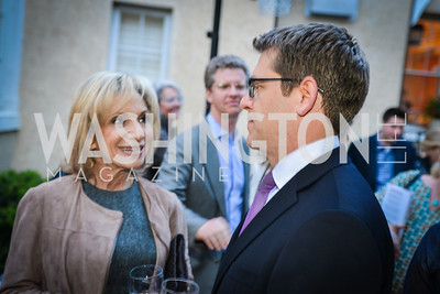 Andrea Mitchell, Jay Carney, The Confidence Code, by Katty Kay and Claire Shipman, Book Party, April 21st, 2014, Photo by Ben Droz