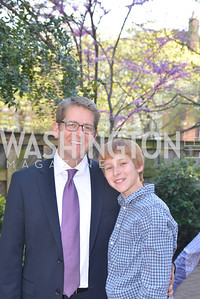 Jay Carney, Hugo Carney, The Confidence Code, by Katty Kay and Claire Shipman, Book Party, April 21st, 2014, Photo by Ben Droz