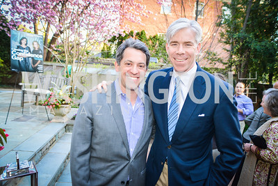 David Gregory, Tim Bankoff, The Confidence Code, by Katty Kay and Claire Shipman, Book Party, April 21st, 2014, Photo by Ben Droz