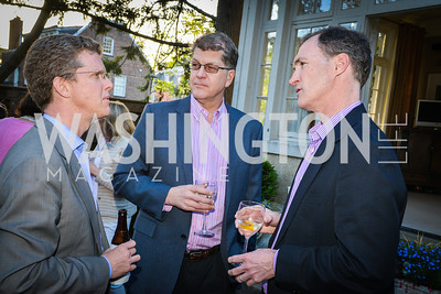 Shawn Donovan, Steve Clemons, Tim Hardart, The Confidence Code, by Katty Kay and Claire Shipman, Book Party, April 21st, 2014, Photo by Ben Droz