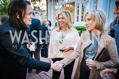 Paul Thornley, Andrea Mitchell,, The Confidence Code, by Katty Kay and Claire Shipman, Book Party, April 21st, 2014, Photo by Ben Droz