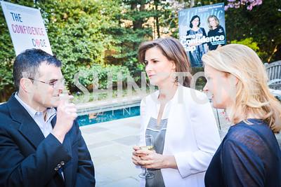 Scott Stossel, Claire Shipman, Katty Kay, The Confidence Code, by Katty Kay and Claire Shipman, Book Party, April 21st, 2014, Photo by Ben Droz