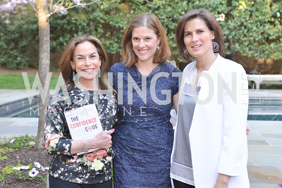 Melissa Moss, Emily Lenzner, Claire Shipman , The Confidence Code, by Katty Kay and Claire Shipman, Book Party, April 21st, 2014, Photo by Ben Droz