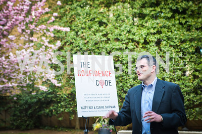 Scott Stossel,  The Confidence Code, by Katty Kay and Claire Shipman, Book Party, April 21st, 2014, Photo by Ben Droz