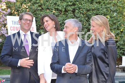 Jay Carney, Claire Shipman, Tom Carver, Katty Kay, The Confidence Code, by Katty Kay and Claire Shipman, Book Party, April 21st, 2014, Photo by Ben Droz
