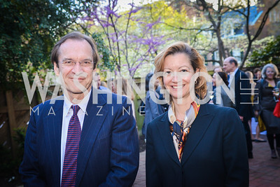 David Ensor, Heidi Crebo-Rediker, The Confidence Code, by Katty Kay and Claire Shipman, Book Party, April 21st, 2014, Photo by Ben Droz