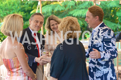 Ambassador Claudio Bisogniero, Annual Country Barbecue at the Villa Firenze benefitting the Children's Hearing and Speech Center.  Thursday, June 5th, 2014.  Photo by Ben Droz.