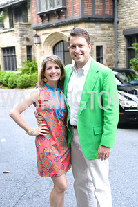 Catherine Zimmermann, Kurt Zimmermann, Annual Country Barbecue at the Villa Firenze benefitting the Children's Hearing and Speech Center.  Thursday, June 5th, 2014.  Photo by Ben Droz.