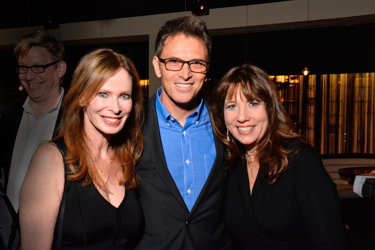 Nancy Moonves, Tim Daly, Robin Bronk