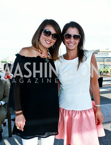 Pamela Sorensen,  Kelly Collis. Photo by Tony Powell. The Embassy Row Hotel Rooftop Opening. July 16, 2014