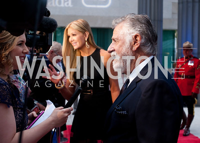 Nancy O'Dell and Jonathan Goldsmith give interviews to The Hill and ET