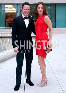 Jay Nix with Sharon Alfonsi of 60 minutes