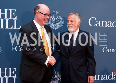 The Beer Institute's Chris Thorne and Jonathan Goldsmith aka The Most Interesting Man in the World