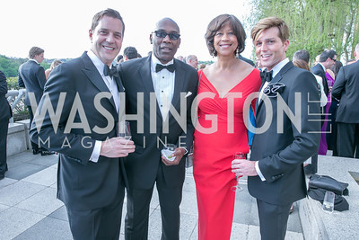Steven Reineke, Roy Tabb, Pam Galloway-Tabb, Eric Gabbard. Photo by Alfredo Flores. The Kennedy Center Spring Gala. Kennedy Center. May 4, 2014.