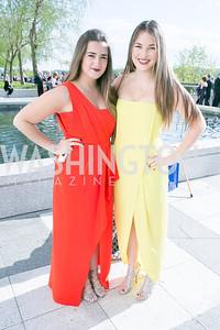 Manuela Simeto, Linnea Head. Photo by Alfredo Flores. The Kennedy Center Spring Gala. Kennedy Center. May 4, 2014.