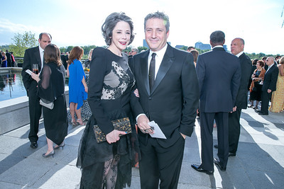 Heather Podesta, Stephen Kesler. Photo by Alfredo Flores. The Kennedy Center Spring Gala. Kennedy Center. May 4, 2014.