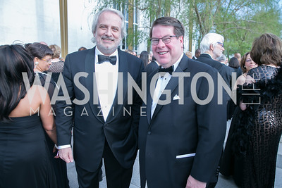 Philippe Auguin, Don Brown. Photo by Alfredo Flores. The Kennedy Center Spring Gala. Kennedy Center. May 4, 2014.