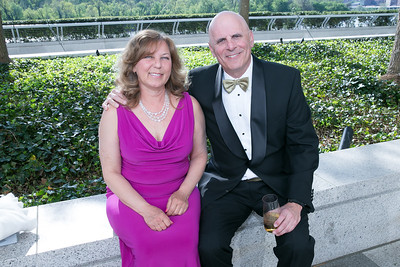 Donna Lobos, Gary Handleman. Photo by Alfredo Flores. The Kennedy Center Spring Gala. Kennedy Center. May 4, 2014.