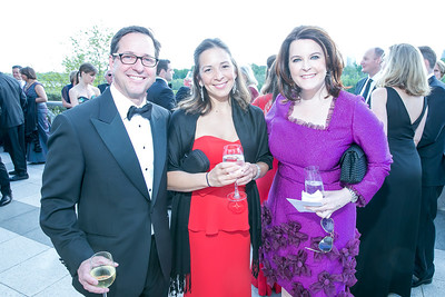 Bill Miller, Evelyn Miller, Raehel Peargan. Photo by Alfredo Flores. The Kennedy Center Spring Gala. Kennedy Center. May 4, 2014.