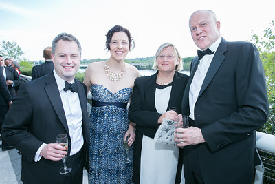 Edward Hoover, Heather McDonald, Helena Ware, Richard Ware. Photo by Alfredo Flores. The Kennedy Center Spring Gala. Kennedy Center. May 4, 2014