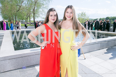 Manuela Simeto, Linnea Head. Photo by Alfredo Flores. The Kennedy Center Spring Gala. Kennedy Center. May 4, 2014.