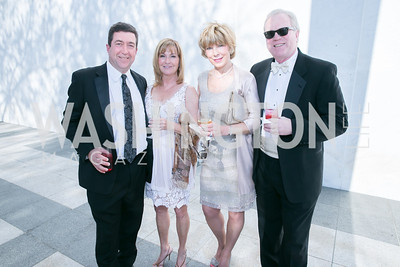 Steve Burdick, Cathy Burdick, Nina Gradia, Ken Gradia. Photo by Alfredo Flores. The Kennedy Center Spring Gala. Kennedy Center. May 4, 2014.
