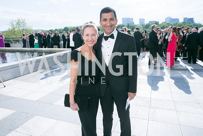 Jay Frame, Faryar Shirzad. Photo by Alfredo Flores. The Kennedy Center Spring Gala. Kennedy Center. May 4, 2014.