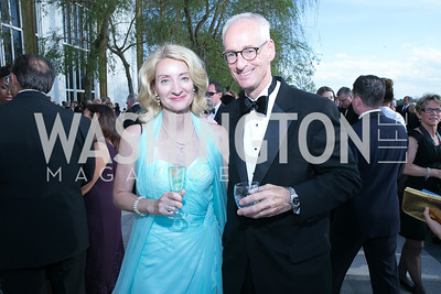 Natalie von Seelen, Kirk von Seelen. Photo by Alfredo Flores. The Kennedy Center Spring Gala. Kennedy Center. May 4, 2014