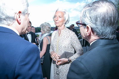Christine Lagarde. Photo by Alfredo Flores. The Kennedy Center Spring Gala. Kennedy Center. May 4, 2014.