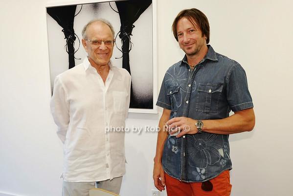 Anthony Hoberman and artist Jeff Muhs
