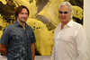 Artists Jeffrey Muhs and Ron Burkhardt<br /> photo by Rob Rich/SocietyAllure.com © 2014 robwayne1@aol.com 516-676-3939