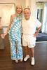 Artist Lori Cuisinier and Henry Buehl<br /> photo by Rob Rich/SocietyAllure.com © 2014 robwayne1@aol.com 516-676-3939