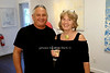 Artist Mike Solomon and Annie Bilss